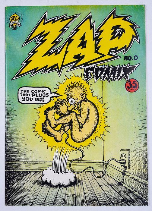 03. 1968- Création du Zap Comix