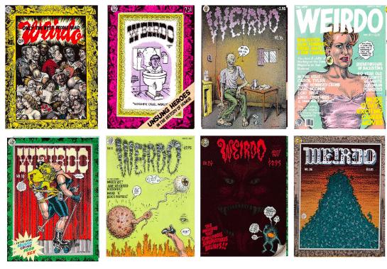 05. 1981. Création de la revue Weirdo